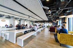 cafétéria restaurant d'entreprise design