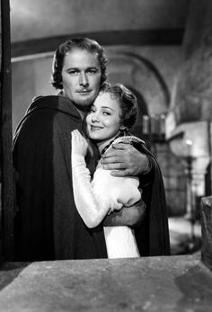 Errol Flynn and Olivia de Havilland, The Adventures of Robin Hood. 1938