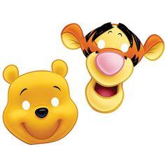 Disney Winnie The Pooh Masks - http://moviemasks.co.uk/shop/disney-winnie-the-pooh-masks