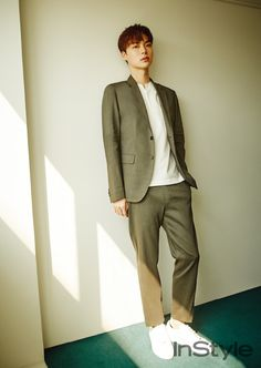 Ahn Jae Hyun for InStyle magazine April Issue Asian Actors, Korean Actors, Seoul Fashion, Fashion Show, Ahn Jae Hyun, My Love From The Star, New Actors, Instyle Magazine, New Star