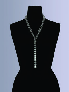 Mikimoto one-of-a-kind Universe necklace, debuted at 2015 Baselworld