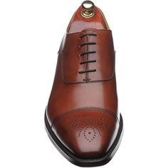 Proper british calf leather shoes from North Hamptonshire. I like the subtle punched detail. Calf Leather, Leather Shoes, Cheaney Shoes, Brogues, Cambridge, Joseph, Calves, Sons, Oxford Shoes