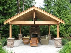 COVERED PATIOS - Malone's Landscape When age-old in concept, the actual pergola has become going Backyard Pool Designs, Backyard Patio, Backyard Landscaping, Backyard Shade, Outside Living, Outdoor Living Areas, Outdoor Rooms, Outdoor Sheds, Outdoor Gardens
