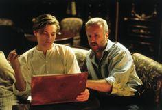 James Cameron guiding Leo