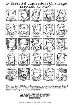 Post-work silliness, courtesy of the 25 Essential Expressions Meme - [link] My personal favourite is Drunk Alistair *** Dragon Age: Origins is © Bi. DA - Faces of an Ex-Templar Facial Expressions Drawing, Cartoon Expression, Drawing Expressions, Dragon Age Origins, Dragon Age Inquisition, Art Reference Poses, Drawing Reference, Dragon Age Alistair, Expression Challenge