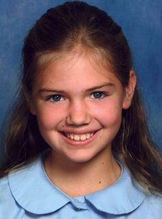 Guess Who? Kate Upton throwback photo