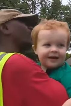 Watch The Sweet Moment A Toddler Says Goodbye To Family Garbage Man, His 'First Friend'.Omg I just cried like a big baby