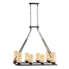 Cordova Collection 8-Light Bronze Chandelier-18120-001 - The Home Depot