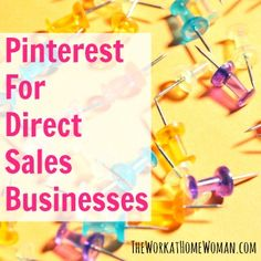 If you are in the direct selling business and you are not on Pinterest, get to their site and sign up as quickly as possible. Many experts believe that Pinterest will be a vital tool for people in the direct sales industry!  via The Work at Home Woman