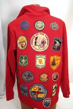Fantastic 1970's Boy Scouts of America jacket. Vintage and perfect condition.