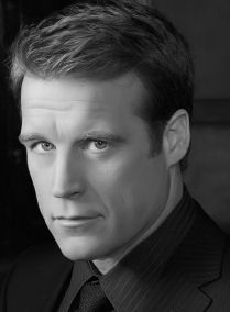 Mark Valley (born December 24, 1964) is an American film and television actor, known for his role as Brad Chase on the TV drama Boston Legal, Oliver Richard on the NBC drama Harry's Law and Christopher Chance in Fox's action/drama Human Target.