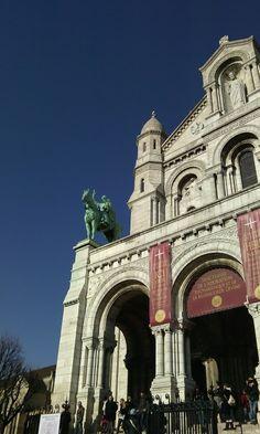 Basilique Sacré coeur, Montmartre