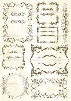 Set of Elements for Design or Tattoo  #GraphicRiver         Set Of Elements For Design Or Tattoo     Created: 28May13 GraphicsFilesIncluded: PhotoshopPSD #JPGImage #VectorEPS Layered: Yes MinimumAdobeCSVersion: CS Tags: antique #card #certificate #corner #crown #emblem #engraving #filigree #frame #gothic #graphic #greeting #heraldic #illustration #leaf #modern #ornament #painting #plant #ribbon #scroll #shape #shield #swirl #symbol #tattoo #text #victorian #vintage #wings