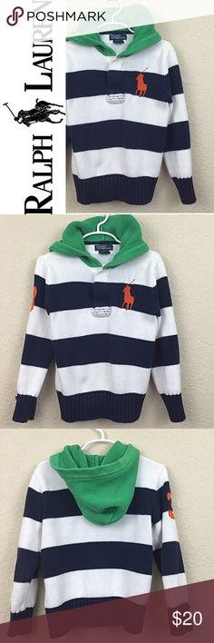 Ralph Lauren hoodie Ralph Lauren boys hoodie sweater no damages great pre loved condition $59 Ralph Lauren Shirts & Tops Sweatshirts & Hoodies