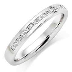 Womens Platinum Wedding Bands