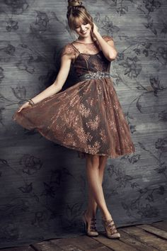 Honeyed Lace Dress | Anthropologie.com