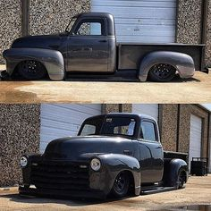Low Fast Famous — Hot Wheels - So much custom work right here igers. 54 Chevy Truck, Chevy 3100, Chevy Pickup Trucks, Gm Trucks, Chevy Pickups, Cool Trucks, Pickup Car, Vintage Pickup Trucks, Classic Pickup Trucks