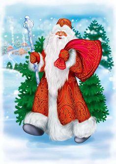 Новый год Дед Мороз Картинки