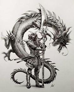 Tattoo Designs Dragon Fantasy Art 56 Ideas For 2019 Japanese Tattoo Art, Japanese Tattoo Designs, Japanese Art, Arte Ninja, Ninja Art, Samurai Tattoo, Ronin Tattoo, Samurai Artwork, Samurai Drawing