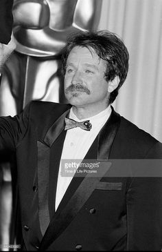 Robin Williams, March 01, 1989| Credit: Time & Life Pictures