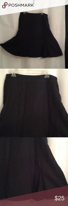 aa58eb0c77 Coldwater Creek XL 18 black skirt Coldwater Creek A-line skirt in a shade of