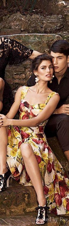Dolce and Gabbana Ad Campaign 2014 l BELLEZZA NELLA VITA l Ria