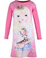 Top Model Mädchen Nachthemd Nadja mit Hund 98837 Rosa