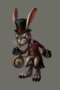 View an image titled 'White Rabbit Art' in our Alice: Madness Returns art gallery featuring official character designs, concept art, and promo pictures. Alice Madness Returns, White Rabbit Character, Geeks, Alice In Wonderland Drawings, Wonderland Alice, Lapin Art, Character Art, Character Design, Chesire Cat