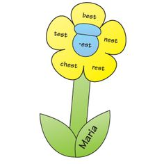 Blooming Word Families | What's Missing? | Butterfly Spinner