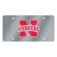 Nebraska Cornhuskers NCAA Laser Cut License Plate Tag