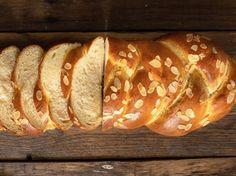 Tsoureki recipe (Traditional Greek Easter bread) - My Greek Dish Greek Desserts, Greek Recipes, Greek Easter Bread, Greek Bread, Best Homemade Bread Recipe, No Rise Bread, Sweet Dough, Sweet Spice, Recipes