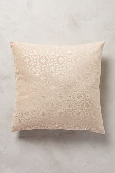 Arbor Floret Pillow - anthropologie.com