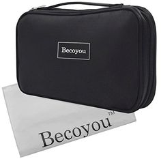 Makeup Organizer Bag Becoyou Professional Makeup Brushes Organizer with Belt Strap Holder Multifunctional Zipper Cosmetic Makeup Bag Handbag for Travel  Home Black >>> See this great product.Note:It is affiliate link to Amazon. #mens