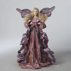 "14"" Blonde Angel in Plum Purple Robes Christmas Tree Topper - Unlit KSA http://www.amazon.com/dp/B00J5PKIEY/ref=cm_sw_r_pi_dp_kaxpub01T4Q93"
