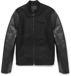 Nice leather jacket of cool guy app