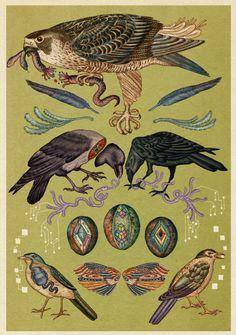 ~Katie Scott tarafından illüstrasyonlar. http://www.mozzarte.com/sanat/katie-scott-tarafindan-illustrasyonlar/ … #illustration