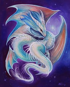 Art 'Starlight Dragon Spirit' - by Nico Niemi from dragons