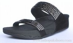 c9b1e0c710b4be Womens Sandals Fitflop Rock Chic Black Shoes   Cheap Fitflop Shoes ...