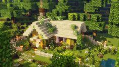 Minecraft House Plans, Minecraft Houses Survival, Easy Minecraft Houses, Minecraft Room, Minecraft House Designs, Minecraft Blueprints, Minecraft Creations, Minecraft Crafts, Minecraft Stuff