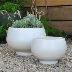1000 Images About Gainey Ceramics Planters On Pinterest
