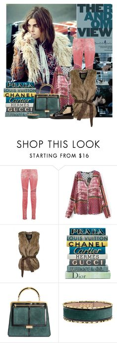 """""""DREAMING"""" by lacas ❤ liked on Polyvore featuring Balmain and bhalo"""