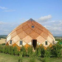 Les zomes, des constructions originales et économiques