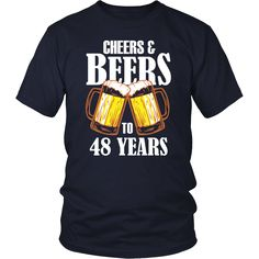 Men's Cheers and Beers to 85 Years T-Shirt - Birthday Gift Cheers And Beers To 40 Years, 65th Birthday Gift, Birthday Ideas, Birthday Quotes, Birthday Parties, Happy Birthday, Sister Birthday, Diy Birthday, Birthday Greetings
