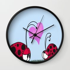 I Give You My Heart Wall Clock. By One Artsy Momma