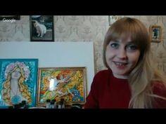 """#МК Екатерина Захваткина """"Витражная живопись"""". Ручная работа - YouTube"""