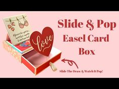 Sam Calcott UK - Mixed Up Craft - YouTube Editions Mr, Jennifer Mcguire Ink, Paper Art, Paper Crafts, Craft Stash, Treat Holder, Easel Cards, Pop Up Cards, Drawing S