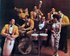 "ORQUESTA. TITO RODRIGUEZ - Tito Rodríguez (pictured on the timbales) January 4, 1923 – February 28, 1973 was a popular 1950s and 1960s Puerto Rican singer and bandleader. He is known by many fans as ""El Inolvidable"" Tito Rodriguez Sr. was one of the TOP 3 Palladium Orchestras, during the Latin mambo and cha cha cha craze that took this nation by storm during the 1950's; the other two being Machito and his Orchestra and Tito Puente and his Orchestra."