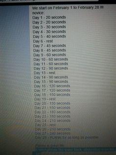 """26.1.15 Door naar n nieuwe challenge: 28 dagen """"planken"""". Ach waarom ook niet!? Zie ook 1.2.15"""