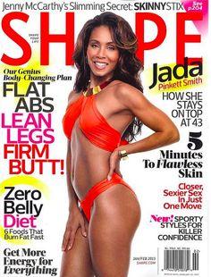 Jada Pinkett Smith Looks Fab & Fit At 43 On The Latest Shape Magazine Cover!