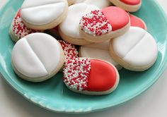 Pill Cookies - because we totally need this Anthony~Chan